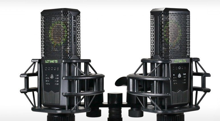 Lewitt LCT 640 TS Mikro Front Dual Stereo Paar