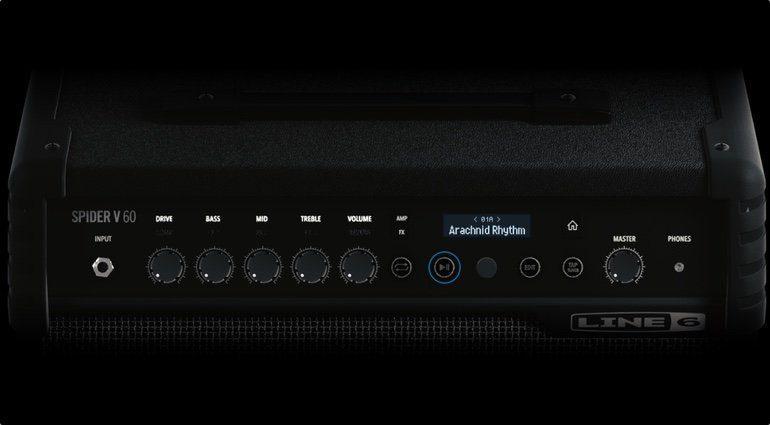Line6 Spider V Combo Amp Front