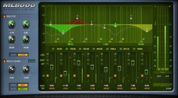 McDSP ML8000 Advanced Limiter - der achtband Limiter für spezielle Mastering Einsätze