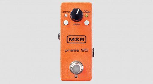 MXR Phase 95 Pedal Phaser Front grau