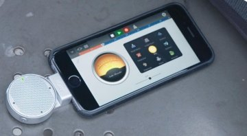 Melo Audio Lolly 3D Smartphone Mikrofon iPhone Front