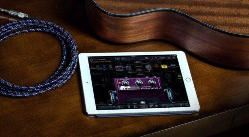Positive Grid Bias FX Acoustic Expansion Pack iPad GUI