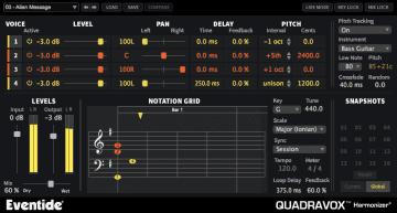 Eventide Quadravox - die hälfte der Stimmen zum halben Preis