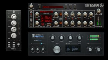Slate Digital FS-Stress Repeater Delay Verbsuite Classic GUI Plug-in FX Effekt