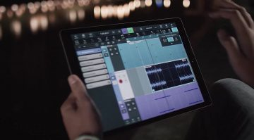 Steinberg Cubasis 2 Video Screenshot iPad Front DAW