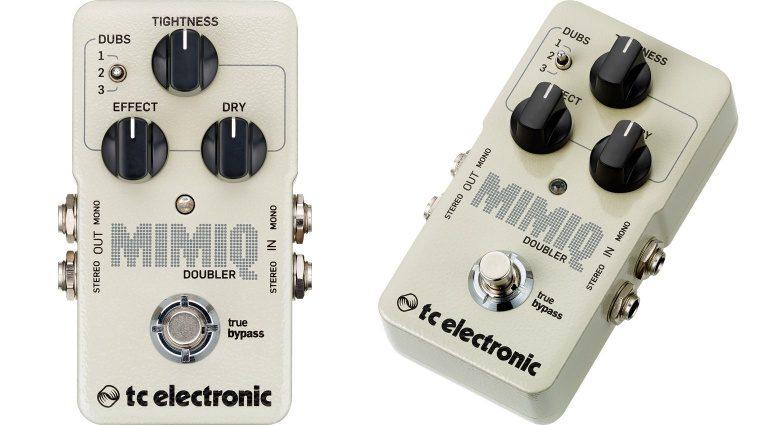 TC Electronic Mimiq Doubler Effekt FX Pedal Front