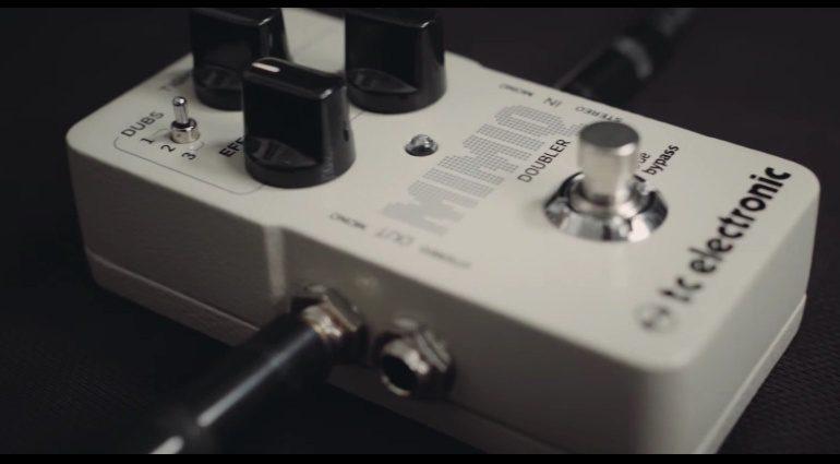 TC Electronic Mimiq Doubler Effekt FX Pedal Front Slant