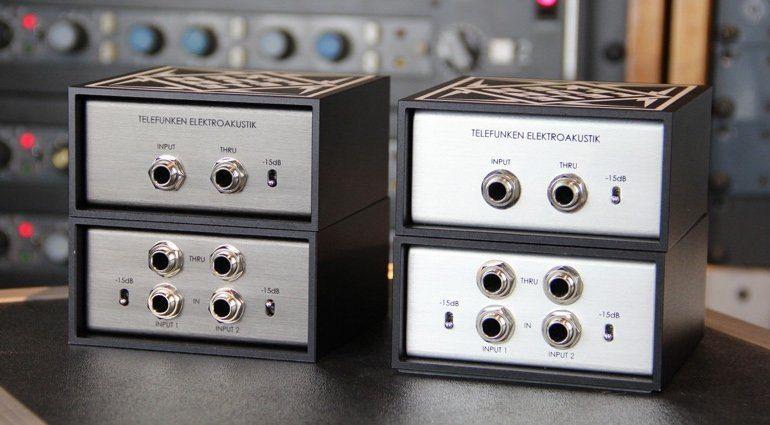 Telefunken DI Boxen TD-1 TD-2 TDA-1 TDA-2 Front
