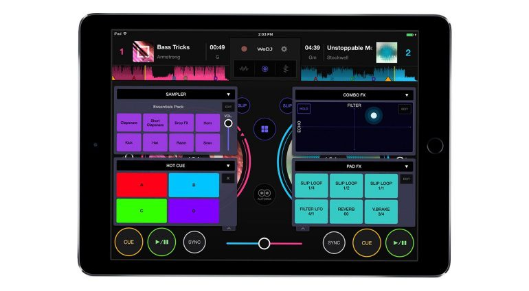 Pioneer WeDJ iOS App