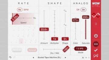 Goodhertz Wow Control - spezielles Plug-in für ungewöhnliche Tonhöhen-Effekte