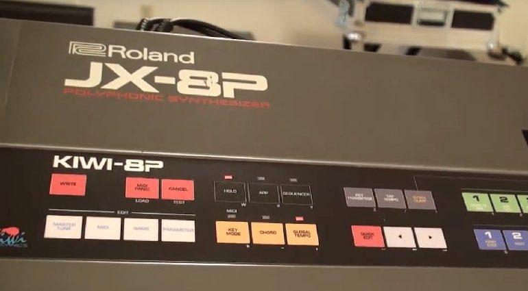jx8p-kiwi-8p - Panel mit Arpeggiator und Sequencer