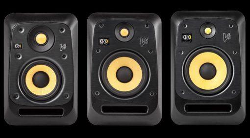 KRK V Serie V4 V6 V8 Front Studio Monitor Aktiv Nahfeld