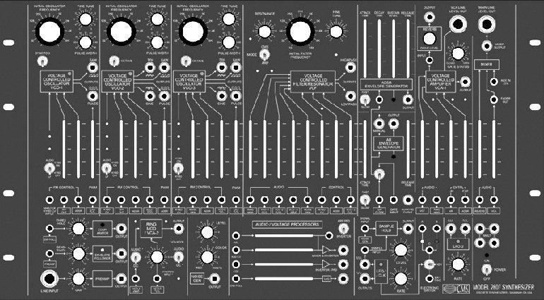 ARP2600 Clone von CMS rack2661