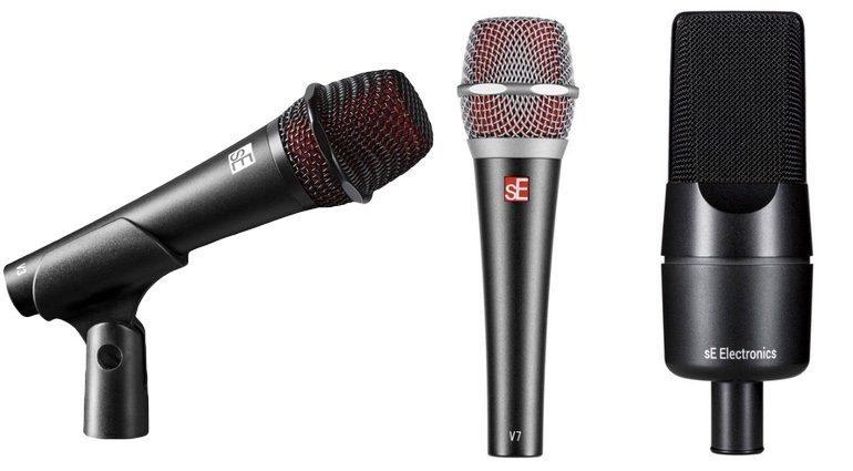 sE Microphones V3 V7 X1 A Mikrofone Front