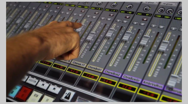 Slate Raven MTi2 Windows Pro Tools Finger Fader Mixer