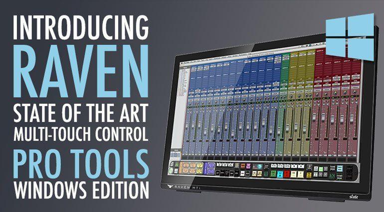 Slate Raven MTi2 Windows Pro Tools