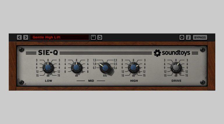 Soundtoys Sie-Q - begrenzt kostenloses Boutique Equalizer-Plug-in!