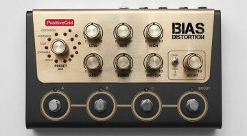 BIAS Distortion Modelling Pedal Front