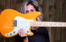 Fender Duo-Sonic Orange Front Girl
