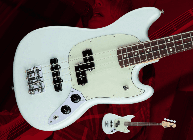 Fender Mustang Bass Shortscale Front