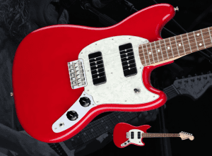 Fender Mustang P90 Torino Red Front