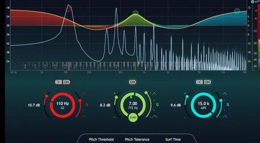Focusrite SoundRadix Surfer EQ 2 Boogie GUI Close Up