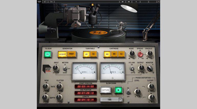 Waves Abbey Road Vinyl Plug-in GUI