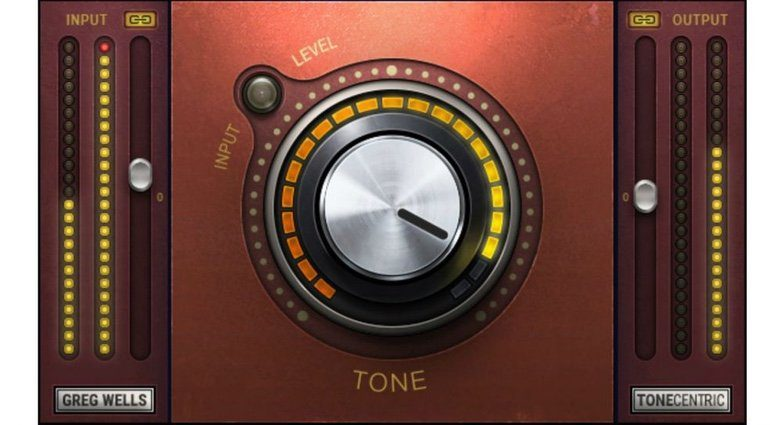 Waves Greg Wells ToneCentric Plug-in GUI OneKnob