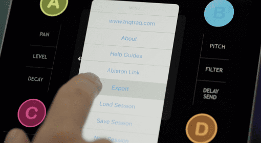 Ableton Live Set Export - neue vielversprechende Funktion für iOS Apps