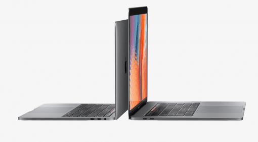 Apple Mac Book Pro 13 und 15 Front Seitenansicht