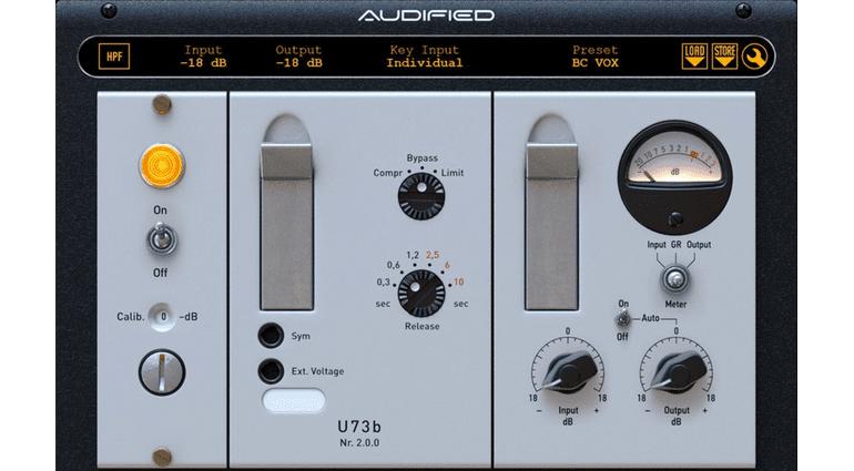 Audified U73b Kompressor Plug-in Emulation Telefunken Variable Mu GUI komplett