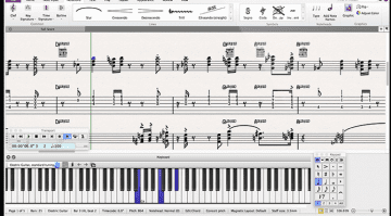 Avid Sibelius First 8 Notation Scoring GUI