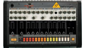 Behringer Analog Drum Machine Mockup