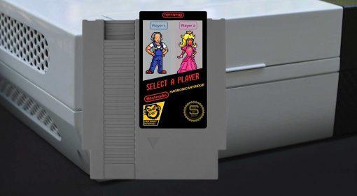Blotendo Harmonicartridge Mundharmonika NES Nintendo Entertainment System Front
