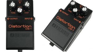 Boss DS-1 Black Distortion Pedal Front LEak