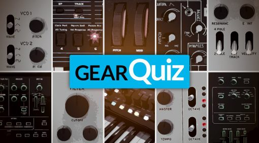 Gear Quiz Synthesizer Oktober 2016