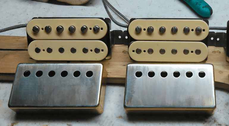 Geppetto Guitars Double Cream Camelot PAF Humbucker Front