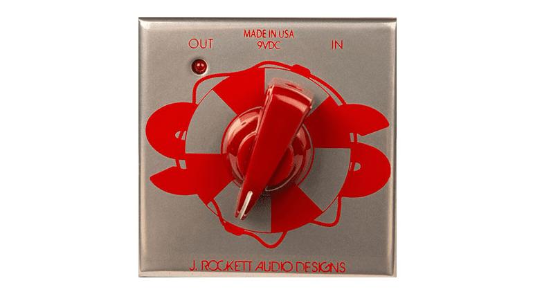 j rockett audio designs sos buffer effekt pedal front