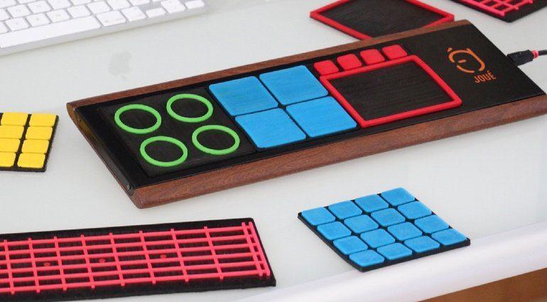 Joue MIDI Controller Matten Module Prototyp