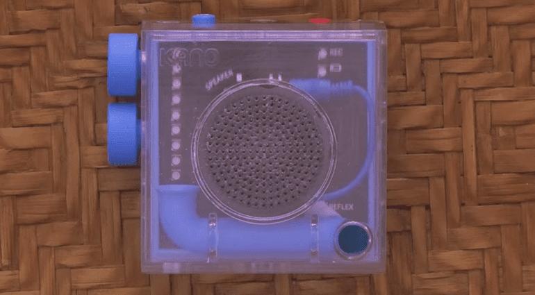 Kano Kickstarter Speaker Kit Front
