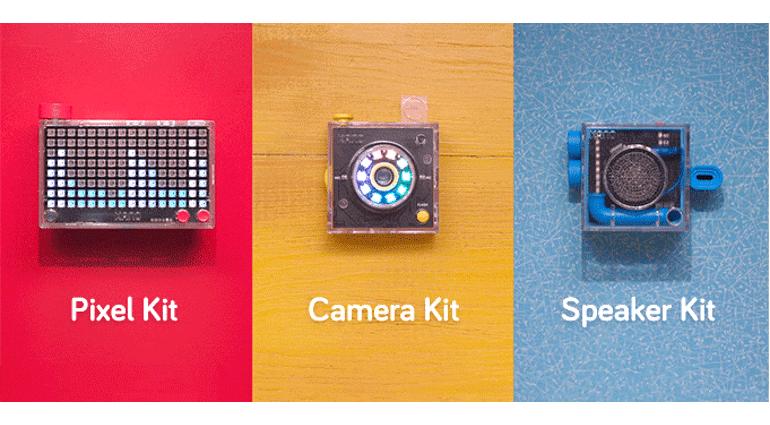 Kano PIxel Speaker Camera Kit Kickstarter Front