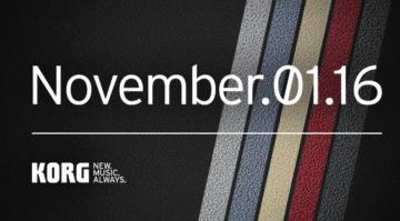 Korg November Teaser