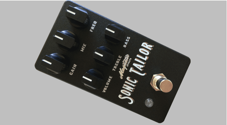 Magnetic Effects Sonic Tailor Front Pedal Effekt Grau