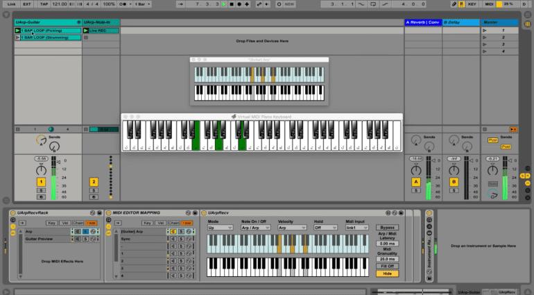 MIDI Mood UArp - Max for Live Arpeggiator und Sequencer mit dem i-Tüpfelchen