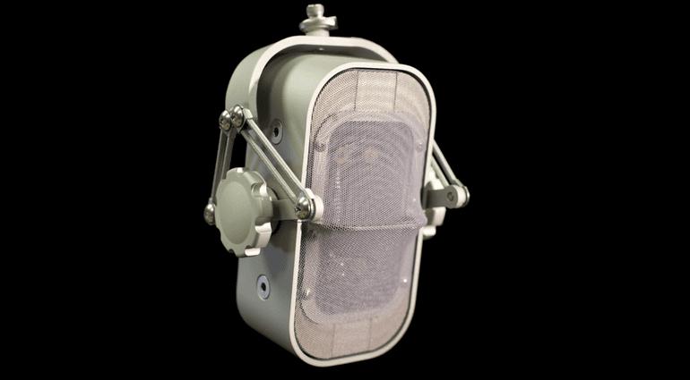 Ocean Way Audio Cliff Mics RM1-B Ribbon Baendchen Mikrofon Front