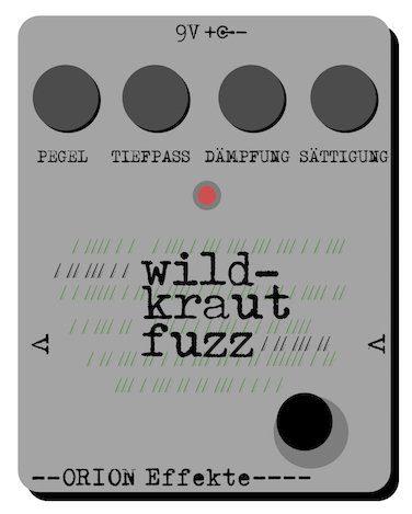Orion FX Wild Kraut Fuzz Mockup Prototpy