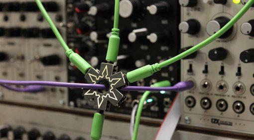 Plankton Electronics Ninja Stars CV Hub Front Synthesizer Modular