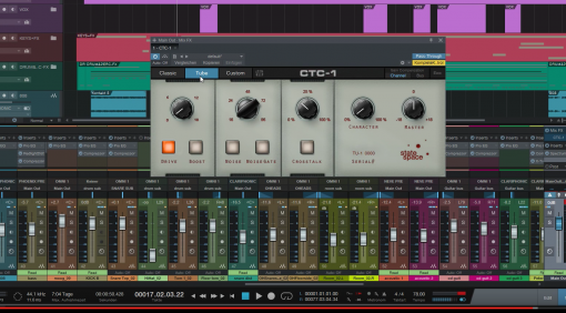 Presonus Studio One 3 Mix-FX CTC-1 Plug-in Tube