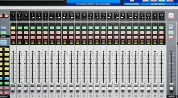 Presonus StudioLive 32 Digital Mixer Top View Draufsicht Series III Close Up