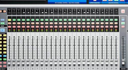 Presonus StudioLive 32 Digital Mixer Top View Draufsicht Series III Close Up